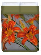 Day Lilly Duvet Cover by William Norton