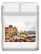 5 Pointz In Itz Prime Duvet Cover by Nishanth Gopinathan