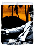 Scarface Duvet Cover by Luis Ludzska