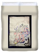 Sign Duvet Cover by Gloria Ssali