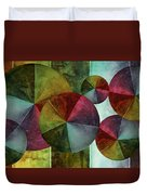 5 Wind Worlds Duvet Cover by Angelina Vick