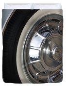 61 Corvette-grey-wheel-9236 Duvet Cover by Gary Gingrich Galleries
