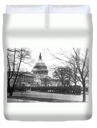 63rd Infantry Ready In Dc Duvet Cover by Underwood Archives