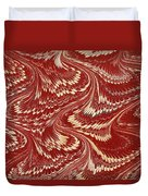 Decorative End Paper Duvet Cover by English School