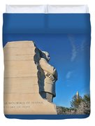 Martin Luther King Jr Memorial Duvet Cover by Allen Beatty