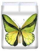 8 Goliath Birdwing Butterfly Duvet Cover by Amy Kirkpatrick
