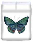 82 Bellona Butterfly Duvet Cover by Amy Kirkpatrick