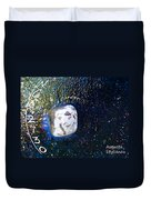 Barack Obama Star Duvet Cover by Augusta Stylianou