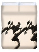 A Chorus Line Duvet Cover by Bill Cannon