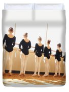 A Dance Class Duvet Cover by Don Hammond