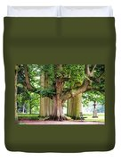 A Day Without You. Park Of The De Haar Castle Duvet Cover by Jenny Rainbow