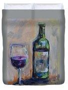 A Good Pour Duvet Cover by Donna Tuten