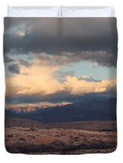 A Light in the Distance Duvet Cover by Laurie Search