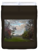 A Little Break From The Rain Duvet Cover by Ylli Haruni