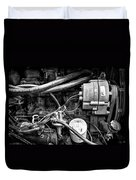 A Mechanic's View Duvet Cover by Jeff Burton