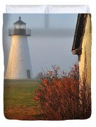 A Morning Fog Duvet Cover by Catherine Reusch  Daley