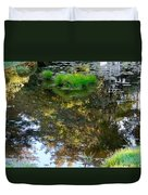 A Quiet Little Pond Duvet Cover by Ira Shander