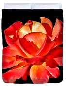 A Red Rose for You 2 Duvet Cover by Mariola Bitner