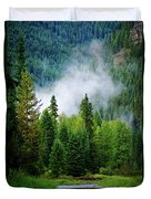 A River Runs Through It  Duvet Cover by Joseph Noonan