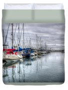 A Storm Was Brewing Duvet Cover by Heidi Smith
