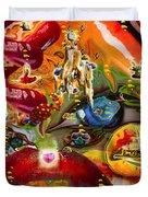 A Taste Of Healing Duvet Cover by Deprise Brescia