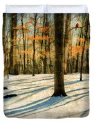 A Touch Of Autumn Duvet Cover by Darren Fisher