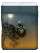 A Tree In The Sky Duvet Cover by Jeff Swan