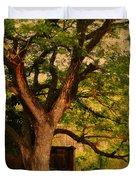 A Tree Duvet Cover by Jenny Rainbow