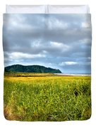 A View From Discovery Trail Duvet Cover by Robert Bales