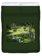 A Waiting Bench Duvet Cover by Paul W Faust -  Impressions of Light