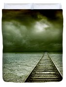 A Way Out Duvet Cover by Photodream Art