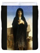 A Young Fellah Girl Duvet Cover by William Adolphe Bouguereau