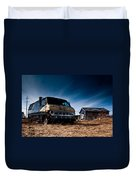 Abandoned Ford Van Duvet Cover by Cale Best