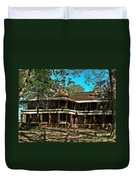 Abandoned Mansion Duvet Cover by Kristie  Bonnewell