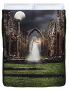 Abbey Ghost Duvet Cover by Amanda And Christopher Elwell