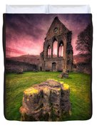 Abbey Ruin Duvet Cover by Adrian Evans