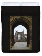 Abbey Ruin - Scotland Duvet Cover by Mike McGlothlen