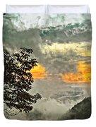 Above The Clouds 3 Duvet Cover by Steve Harrington