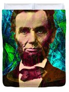Abraham Lincoln 2014020502p145 Duvet Cover by Wingsdomain Art and Photography