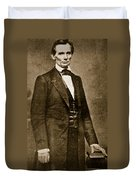 Abraham Lincoln Duvet Cover by Mathew Brady