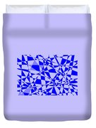 Abstract 151 Duvet Cover by J D Owen