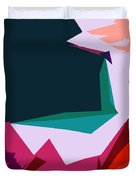 Abstract 4-2013 Duvet Cover by John Lautermilch