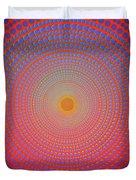 Abstract Dot Duvet Cover by Atiketta Sangasaeng