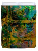 Abstract - Emotion - Facade Duvet Cover by Barbara Griffin