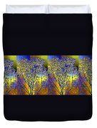 Abstract Fusion 100 Duvet Cover by Will Borden