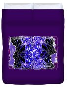 Abstract Fusion 117 Duvet Cover by Will Borden