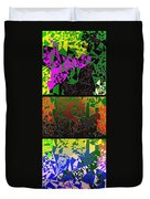 Abstract Fusion 193 Duvet Cover by Will Borden