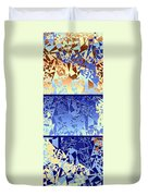 Abstract Fusion 194 Duvet Cover by Will Borden
