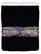 Abstract Fusion 197 Duvet Cover by Will Borden