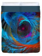 Abstract Jet Propeller Duvet Cover by Andee Design